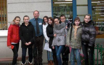 Zajęcia dla dzieci z Mińska